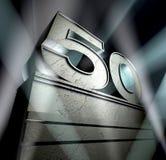 Congratulation 50 Stock Image