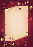 Congratulation card. Royalty Free Stock Image