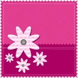 Congratulation card for girl Stock Photo