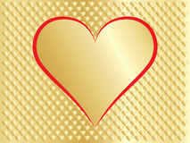 Congratulation card for Valentines Day Stock Image