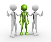 Congratulation. 3d people - men, person together. Congratulation Stock Image