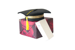 Congratulation- gift for graduate Royalty Free Stock Photography
