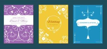 Congratulation graduation invintation anniversary paper layout certification celebration vector card illustration design Stock Images