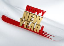 Congratulation - Happy New Year Stock Images
