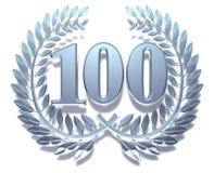 Congratulation hundred Stock Image