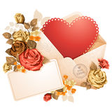 Congratulation on Valentines Day Royalty Free Stock Photos