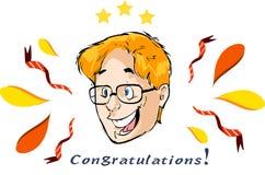 Congratulation Royalty Free Stock Photos