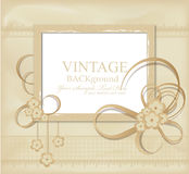 Congratulation  vintage background Royalty Free Stock Photos