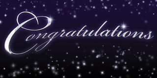 Congratulations royalty free stock photo