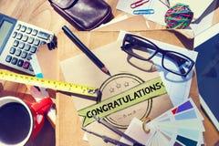 Congratulations Acheivement Celebration Admiration Concept Stock Photo