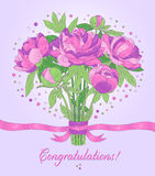 Congratulations card Stock Images
