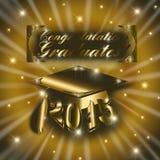 Congratulations Class of 2015 Stock Photos