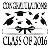 Congratulations Class of 2016 Stock Image