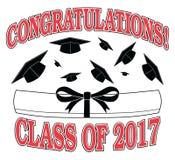 Congratulations Class of 2017 Stock Photo