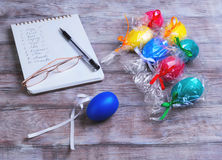 Congratulations on Easter Royalty Free Stock Photo