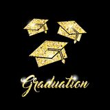 congratulations grad celebration card Royalty Free Stock Images