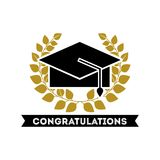 congratulations grad celebration card Stock Photos