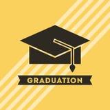 congratulations grad celebration card Royalty Free Stock Image