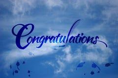 Congratulations graduation Stock Photo