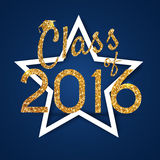 Congratulations on graduation 2016 class of. Graduation Party, C Royalty Free Stock Photography