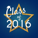 Congratulations on graduation 2016 class of. Graduation Party, C Stock Images