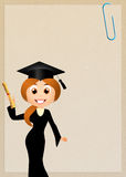 Congratulations for graduation Royalty Free Stock Images