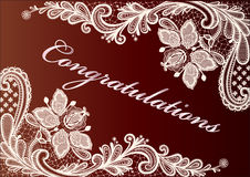 Congratulations greetings Royalty Free Stock Photo