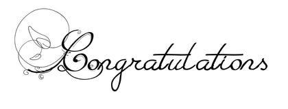 Congratulations Royalty Free Stock Photos