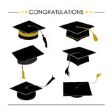 Congratulations Hat Graduation Royalty Free Stock Photography