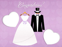 Congratulations for Marriage Stock Image