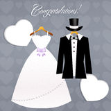 Congratulations for Marriage Royalty Free Stock Images