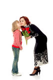 Congratulations on Mother's Day Royalty Free Stock Photos