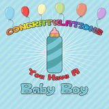 Congratulations New Born Royalty Free Stock Photo