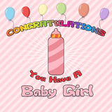 Congratulations New Born Stock Images