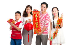 Congratulations for New Year Stock Photography
