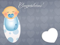 Congratulations for newborn Royalty Free Stock Photo