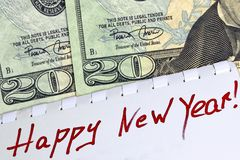 Free Congratulations On The New Fiscal Year 2020. Stock Images - 158578914