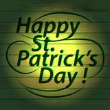 Congratulations, St Patrick's Day Stock Image