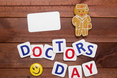 Congratulations to Doctor Day Royalty Free Stock Photo