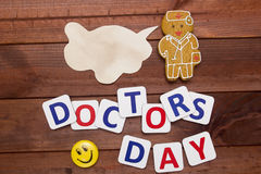 Congratulations to Doctor Day Stock Images