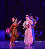 "Congratulations to newborn-Dance drama ""The Dream of Maritime Silk Road"" Stock Photo"