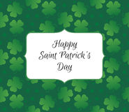 Congratulations to the St. Patricks Day Stock Images