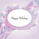 Congratulatory card Stock Image
