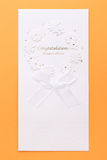 Congratulatory card Stock Images