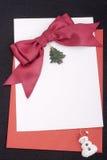 Congratulatory letter Stock Photo