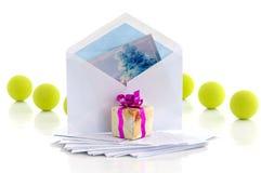 Congratulatory letter Royalty Free Stock Photo