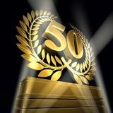 Congratulazione 50 Immagine Stock