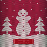 Congratulazione di festa - Buon Natale e buon anno Immagine Stock