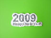 Congratulazione di nuovo anno felice Immagini Stock