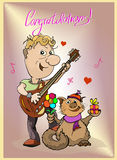 Congratulazioni! Fotografia Stock